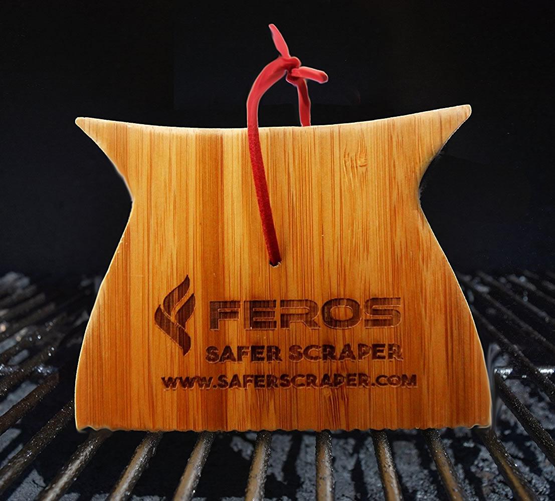 Bamboo Grill Scraper